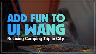 Relaxing Camping Trip in Ui Wang, Gyeonggido_Uiwang Railbike, Wangsong Lake, Resole Park