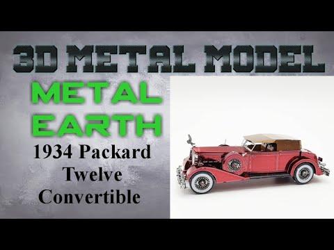 Metal Earth Build - 1934 Packard Twelve Convertible