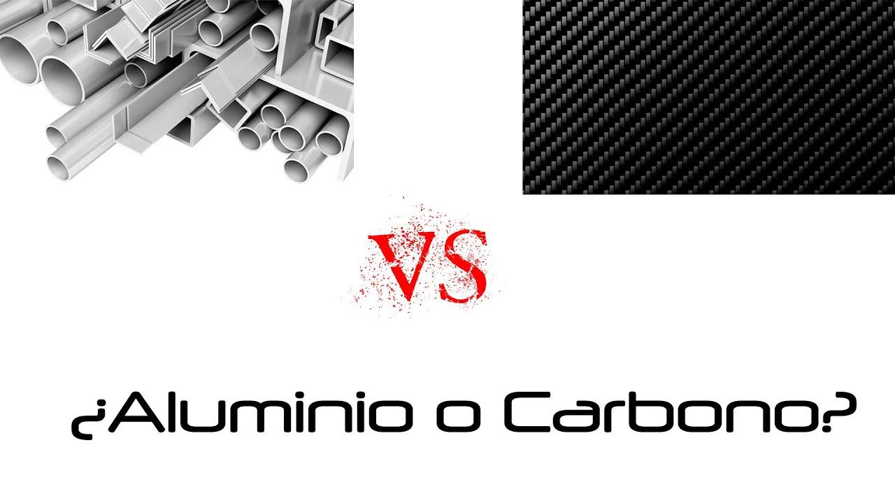 Aluminio o Carbono en las bicicletas?   Opinión personal - YouTube