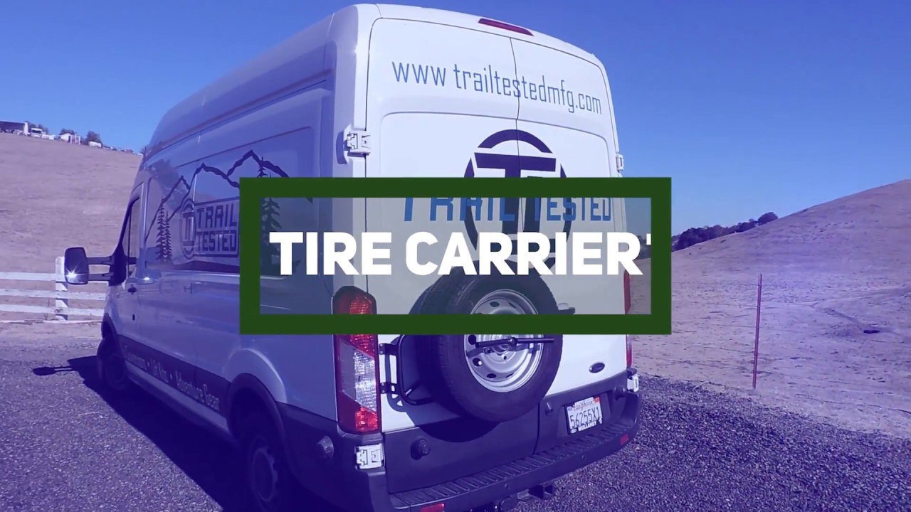 TTM Ford Transit Spare Tire Carrier