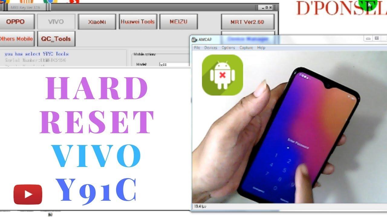 Vivo Y91c (VIVO 1820) Remove Pin Lock || Unlock FRP one Click