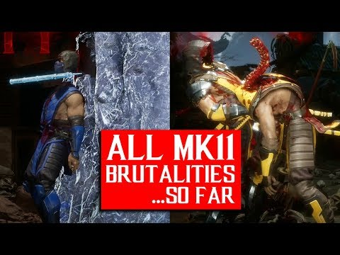 Mortal Kombat : Every Brutality So Far And How To Do Them