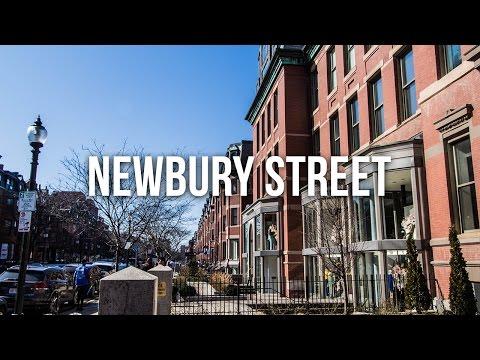 Exploring Newbury Street