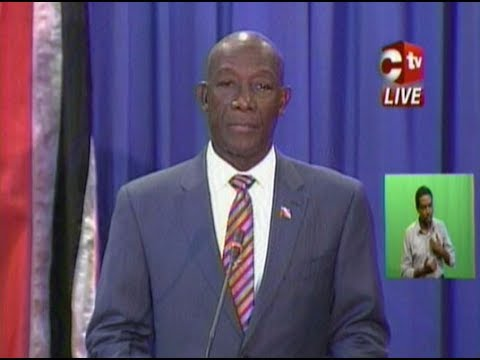 Prime Minister's Press Conference Regarding Protest Action By Beetham Residents