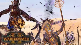 GELT & ALBERIC vs NOCTILUS & ARKHAN - Themed 2v2 // Total War: Warhammer II Online Battle