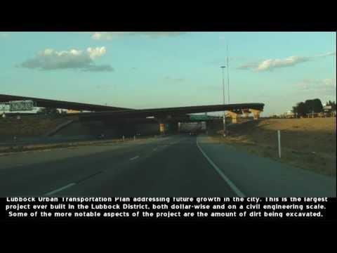 US 62&82 Lubbock, TX Marsha Sharp Freeway