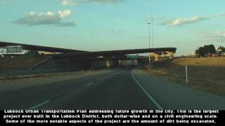 US 62&82 Lubbock, TX Marsha Sharp Freeway