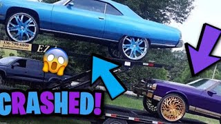 COREY BOX CHEVY & TEDDY DONK CRASHED !