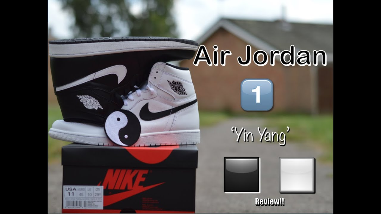 buy popular 076e4 800b4 Air Jordan 1  Yin Yang  Pack Review!!