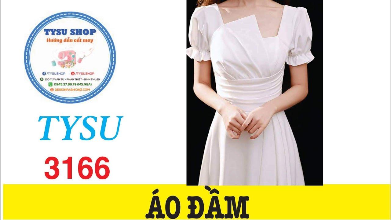 Áo Đầm 3166|Dạy Cắt May Cơ Bản | Học Cắt May Miễn Phí