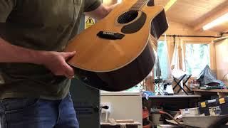 takamine g series eg-332c acoustic guitar