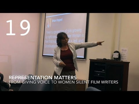 Representation Matters from Giving Voice to Women Silent Film Writers