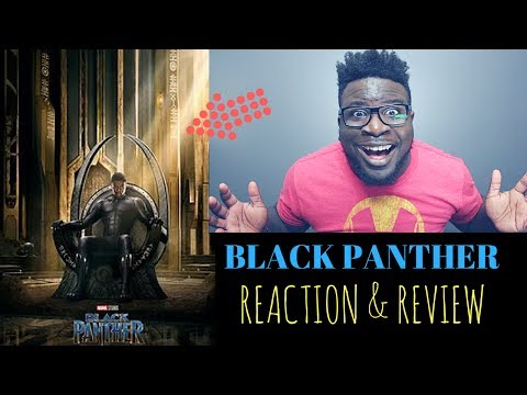 BLACK PANTHER - TRAILER REACTION | I ALMOST PASS OUT!! (BEST YOUTUBE REACTION) + AMAZON GIVEAWAY