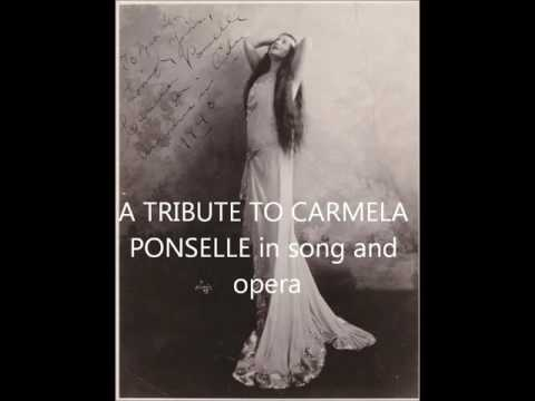 CARMELA PONSELLE (1887-1977) a tribute with live b'casts