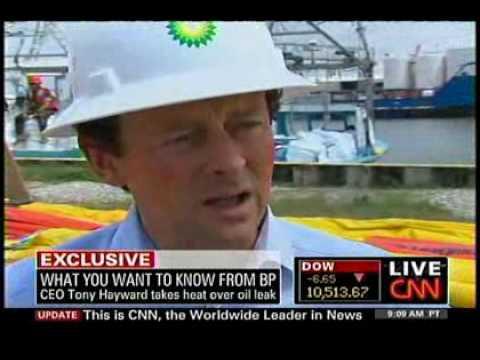 Deepwater Horizon - May 7, 2010 - CNN - Tony Hayward pitches containment dome