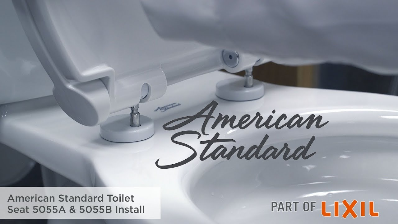 How To Install A Toilet Seat 5055a Amp 5055b Models By