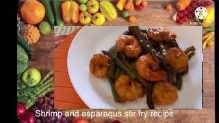 SHRIMP and ASPARAGUS sтir fry recipe