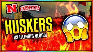 """""""HUSKERS VS. ILLINOIS FOOTBALL GAME!"""" - TAZE DAY IN THE LIFE #19!! (TAZE DAY IN THE LIFE VLOG!"""