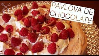 Pavlova de Chocolate - Confissões de uma Doceira Amadora