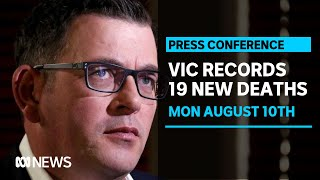 Victoria records 322 new cases of COVID-19 and 19 deaths | ABC News