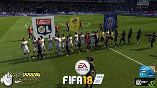 Fifa 18 pc gameplay // psg vs. lyon // ultra settings 60 fps