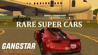Gangstar New Orleans - RARE SUPER CARS (Grosskatzen, Wildback, Thornback, Storer)