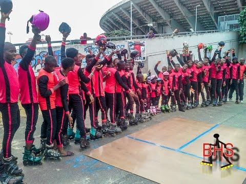 BHS Freestyle Inline Skating - Lagos, Nigeria