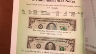 billetes de 100 dolares con estrella detalles y valor