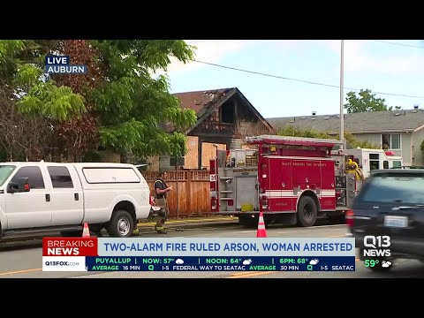 Police: Woman Intentionally Set Fire That Damaged Auburn Apartments