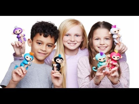 6 COLORFUL & INTERACTIVE SMART BABY MONKEY FINGERLINGS TOYS!