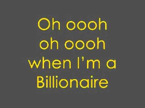 Travie McCoy ft. Bruno Mars - Billionaire ( Lyrics )