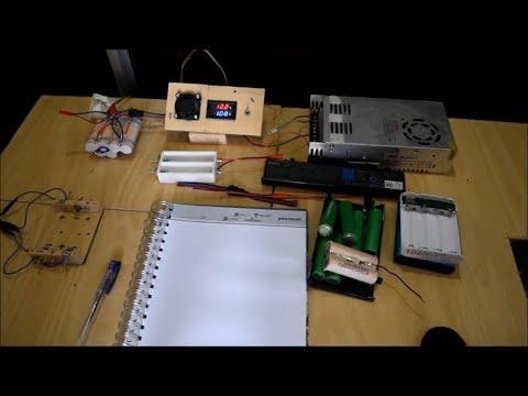 Li-ion 18650 3S sarj devresi ve eski notebook bataryasından 3S batarya yapimi  (BMS MEHS)