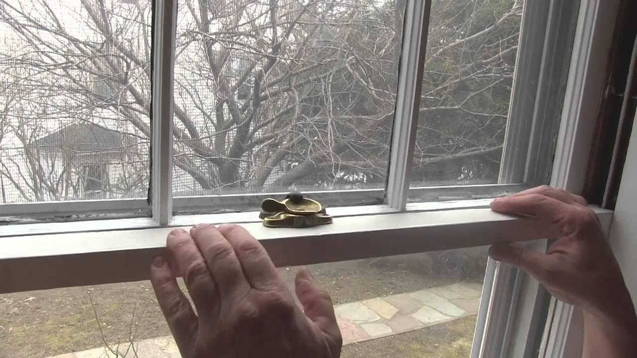 Anatomy of an Old Window - YouTube