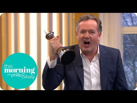 Piers Morgan Steals This Morning's NTA | This Morning
