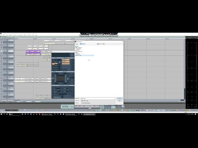 Samplitude/Sequoia Save/Load Clip FX
