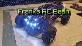 Traxxas Rustler VXL LED Light Kit Setup - Headlights, Taillights and Underglow