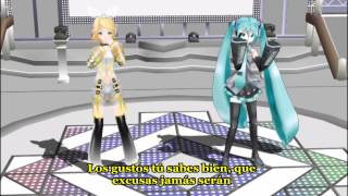 [MMD] Happy synthesizer Miku and Rin