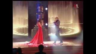 Zlata Ognevich - Time to say goodbye duet with Alexander Krivoshapko
