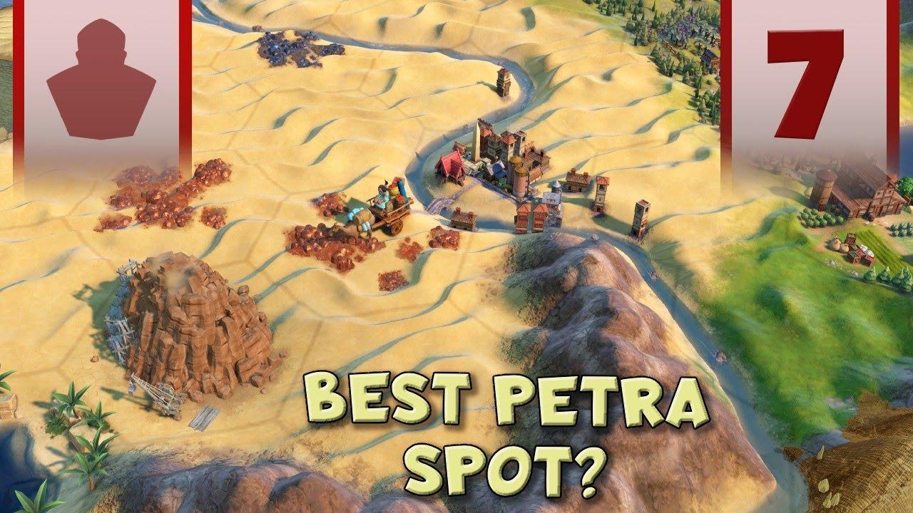 Best Petra Spot Ever? - Civ 6 Let's Play Maori Ep.7