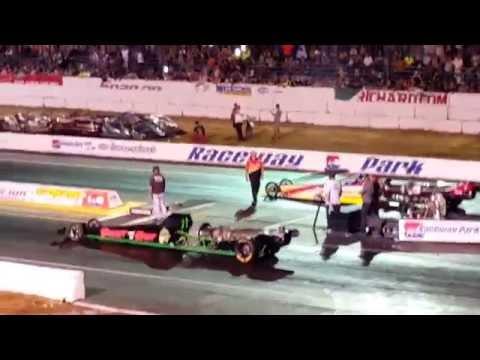 Jet car race at raceway park Englishtown nj