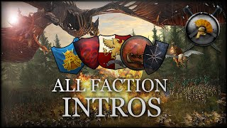 ALL 5 FACTION INTRO VIDEOS! - Total War: WARHAMMER (Campaign Cinematics)