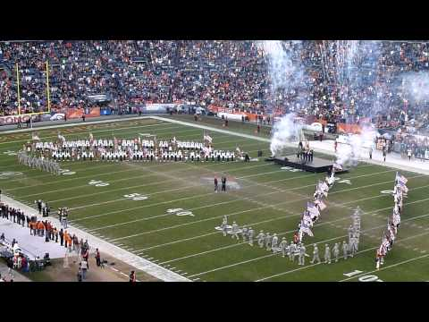 Jessie James Half Time 2011 Playoffs Song 2 - Military Tribute