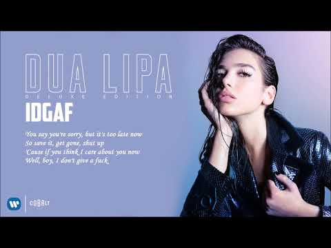 Download Youtube: Dua Lipa - IDGAF - Official Audio Release