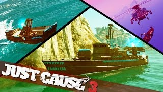 VEHICLE MODS JUST CAUSE 3 :: Just Cause 3 Boat Mods