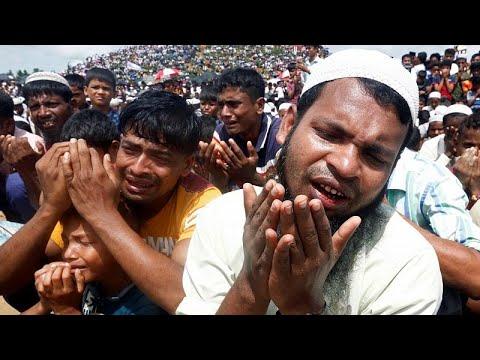 شاهد-  بالابتهال إلى الله  .. مسلمو الروهينغا يحيون الذكرى الثانية ل-يوم الإبادة-…  - نشر قبل 31 دقيقة