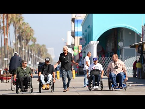 Wheelchair Street Photography John Free - Rancho Research Institute
