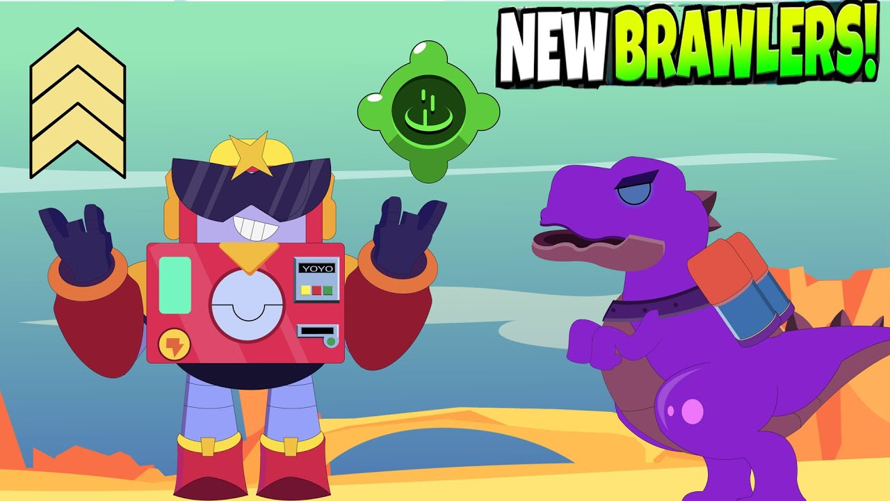 SURGE NEW BRAWLER CHROMATIC || PIGGY in Monster Map Brawl Stars Animation