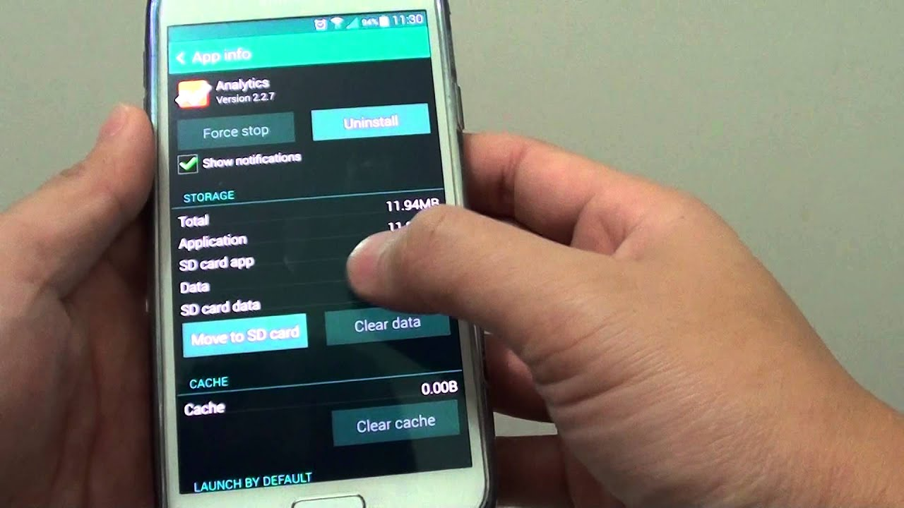 Samsung Galaxy S5 See All Downloaded Apps And Their Memory Usage