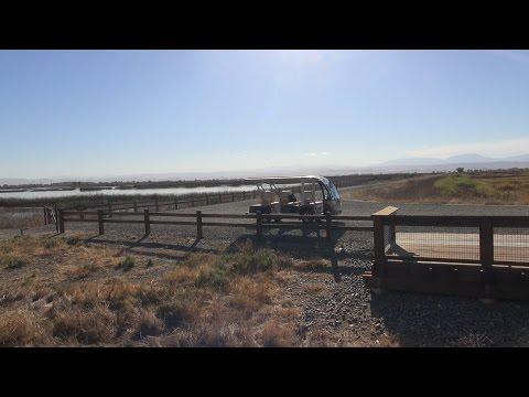 Tram at Sacramento National Wildlife Refuge