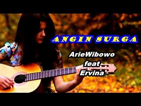 Arie Wibowo ft Ervina - Angin Surga (Video Lagu + Lyric)